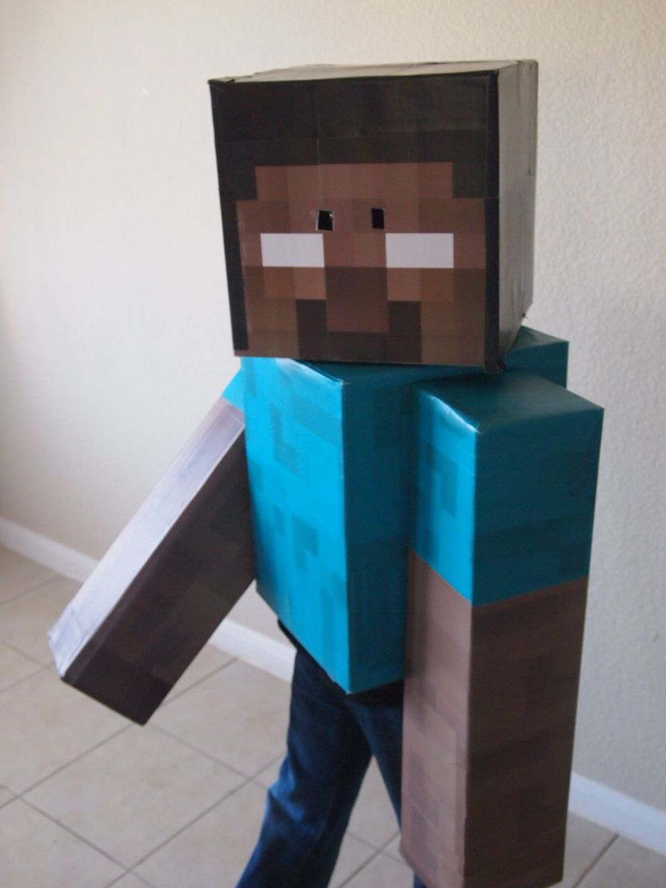 herobrine costume | Minecraft halloween costume, Halloween ...
