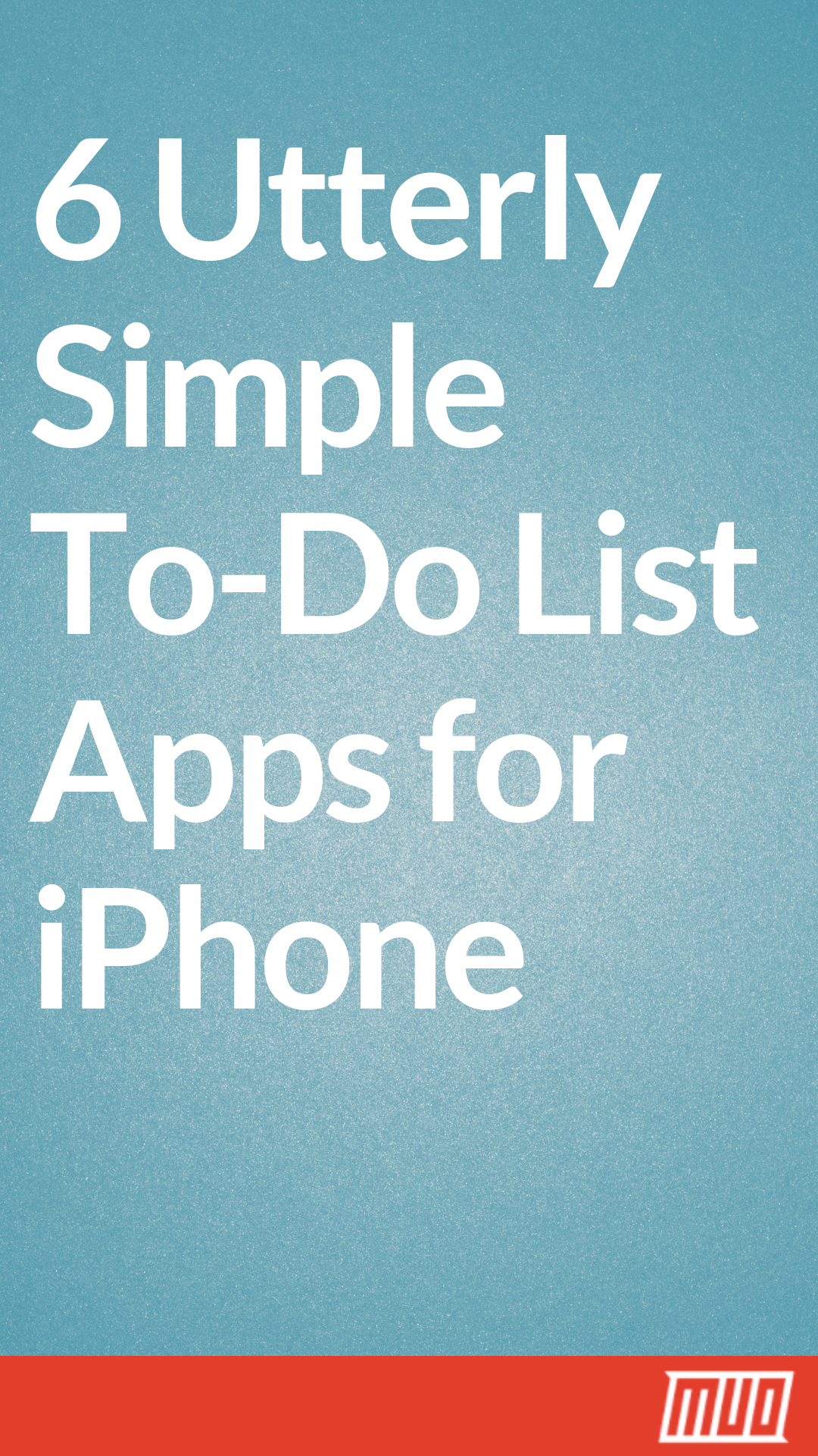 simple to do list apps