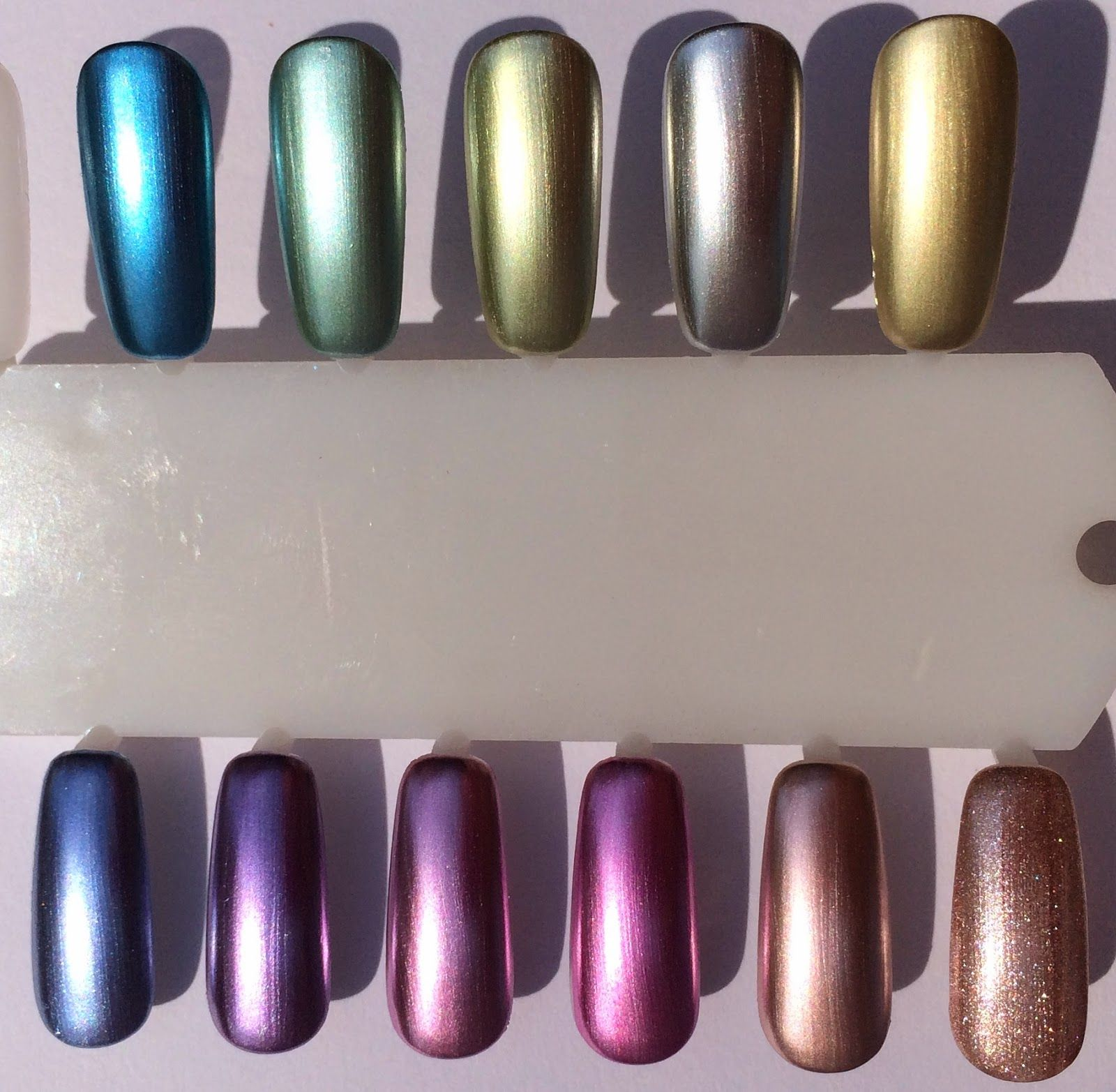 SPOTTED!: Swatches of Sally Hansen Color Foil Nail Makeup Nail ...