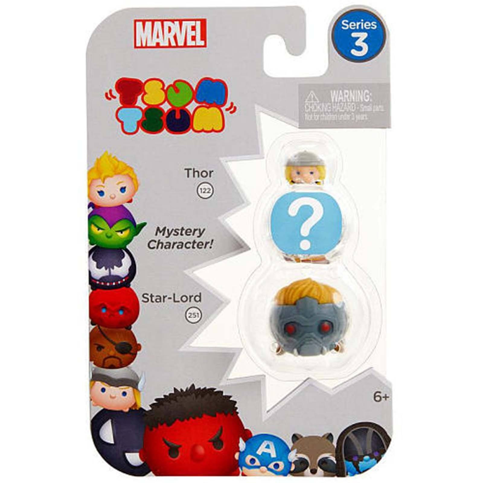 Disney Tsum Tsum Marvel Series 3 Thor Star-Lord Mystery NEW  mystery caracter