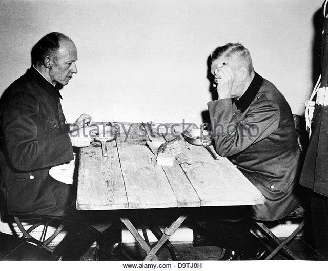 Wilhelm Keitel (r), head of the Supreme Command of the German ...