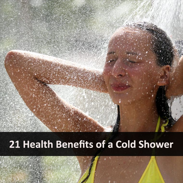 Curejoy Health tip of the day (20/06) : 21 Health Benefits of a Cold Shower ==