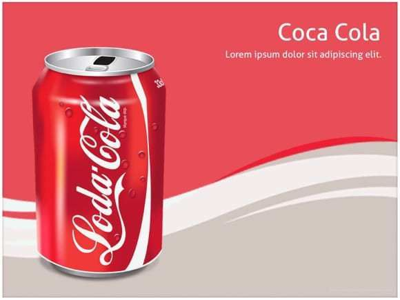 coca cola powerpoint template free powerpoint templates