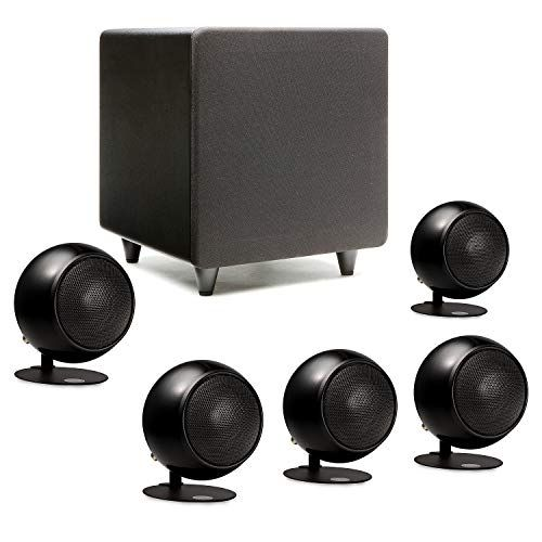 Orb audio mini mod home theater speaker system subwoofer sound includes orbs  handmade in the us outperforms larger also rh pinterest