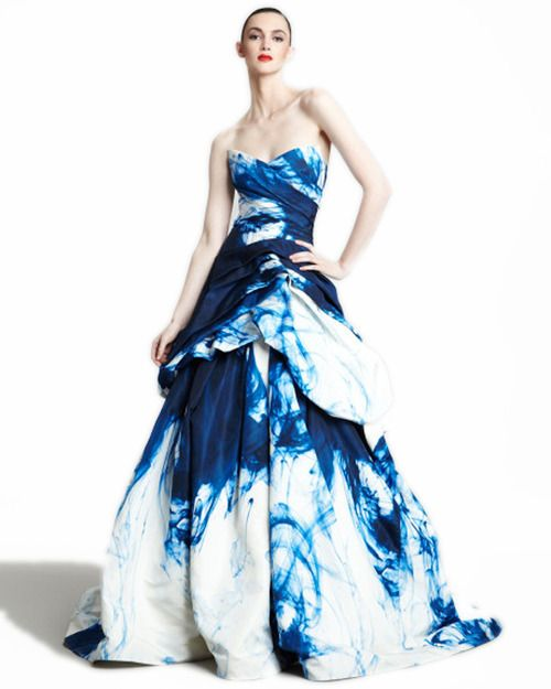 Shibori Wedding Gowns Google Search