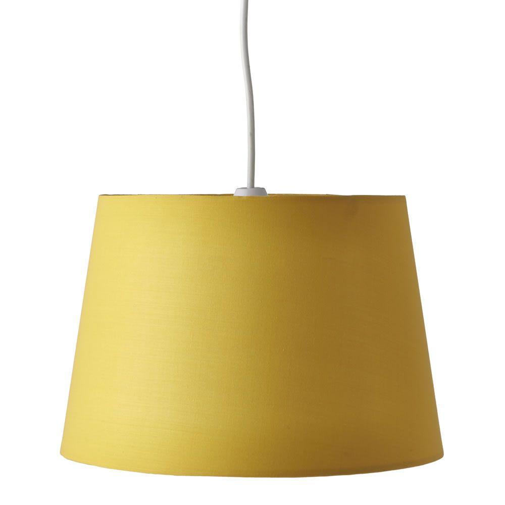 Wilko Taper Shade Yellow Shades Light Shades Energy Saving Bulbs