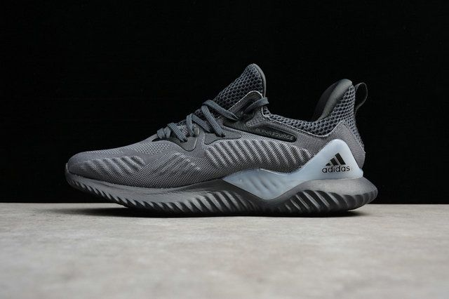 4d9ed7347 Adidas Alphabounce HPC AMS 3M Pale Grey Cg4765 Genuine Shoe