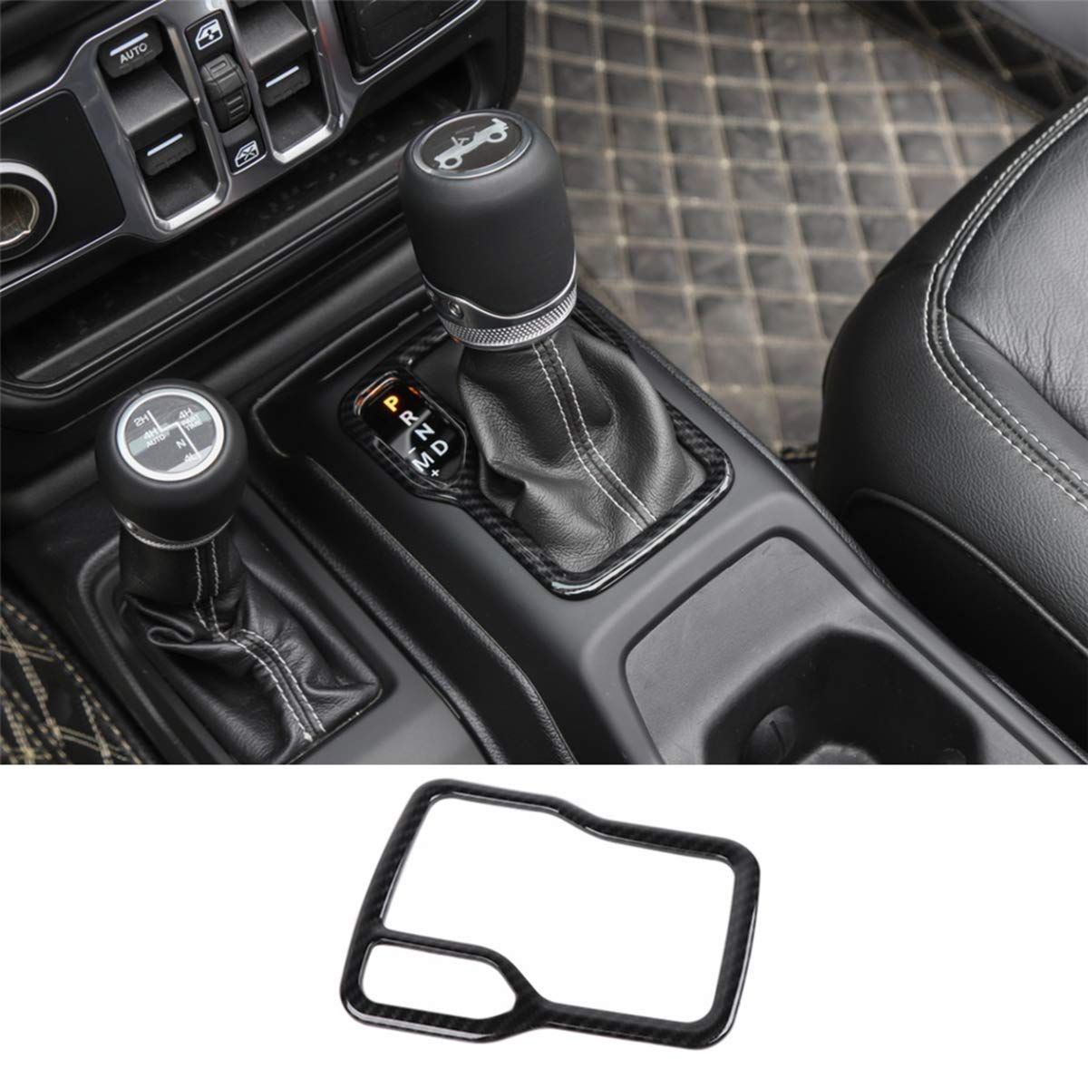 Cup Holder Trim Gear Shift Cover For Jl Jt In 2020 Cup Holder Wrangler Accessories Jeep Wrangler Accessories