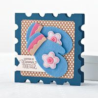Warmer Together Card by Chan Vuong - supplies and instructions included