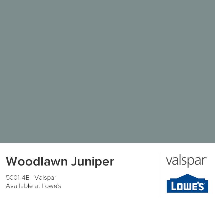 Valspar Paint Color Chip Woodlawn Juniper Paint Colors For