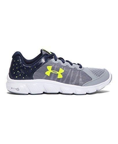 42f9a75379 Under Armour Big Boys  Grade School UA Micro G Assert 6 Running Shoes 3.5  Big