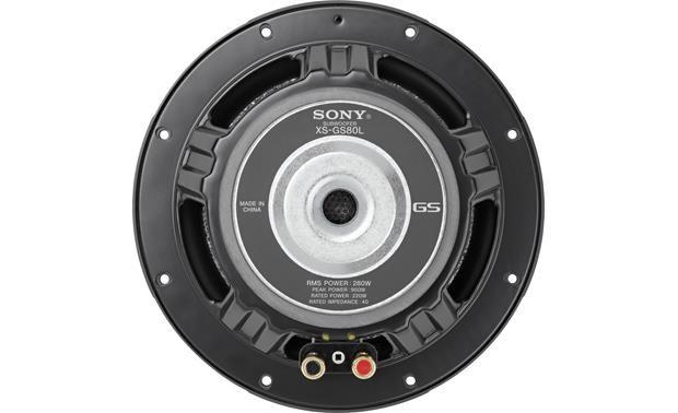 Sony XS-GS80L Back