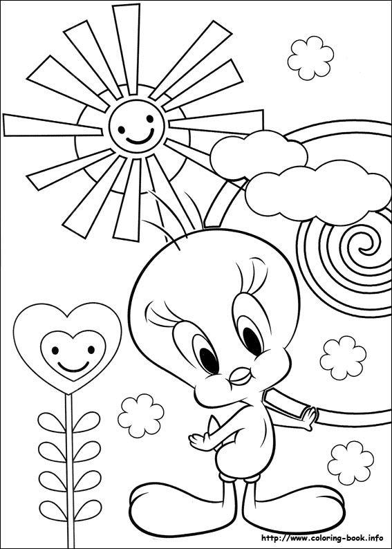 Tweety Coloring Picture Disney Coloring Pages Coloring