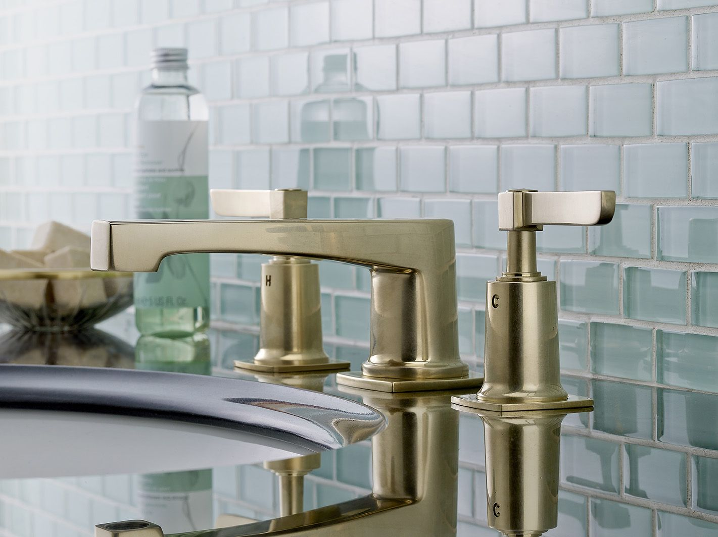 Watermark bathroom accessories - H Line Faucet By Watermark Designs