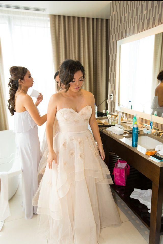 Olivia wtoo in oatmeal. Bridal gown. Blush. | My wedding day ...
