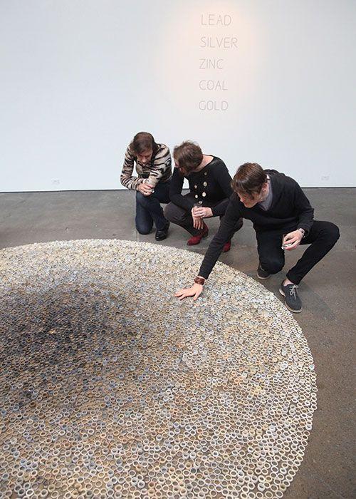 Exhibition of 10000 rings of Bridget Kennedy in Australia
