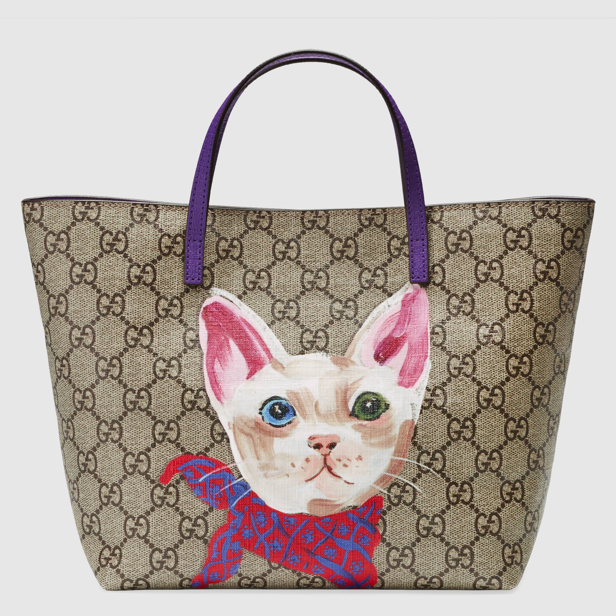 d415e412dc5 Children s GG Supreme cat tote - Gucci Bags   Backpacks 410812K2R1N8595