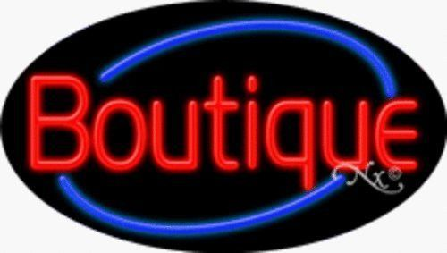 Boutique Handcrafted Energy Efficient Real Glasstube Flashing Neon Sign