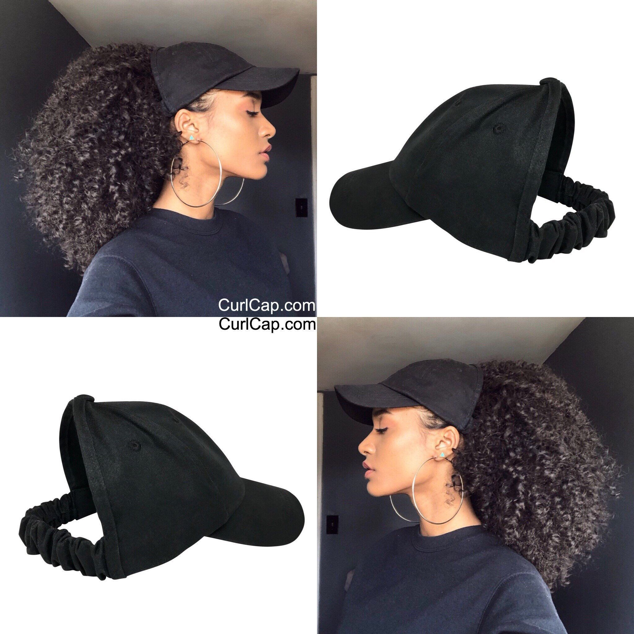 The Classic Curl Cap Is The Must Have Accessory This Year Comes With Satin Lining Protect Y Natural Hair Styles Curly Hair Styles Naturally Curly Hair Styles