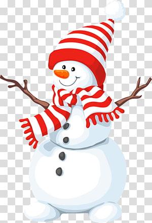 Snowman Illustration Snowman Wearing Scarf Transparent Background Png Clipart Cartoon Christmas Tree Christmas Tree Clipart Christmas Illustration