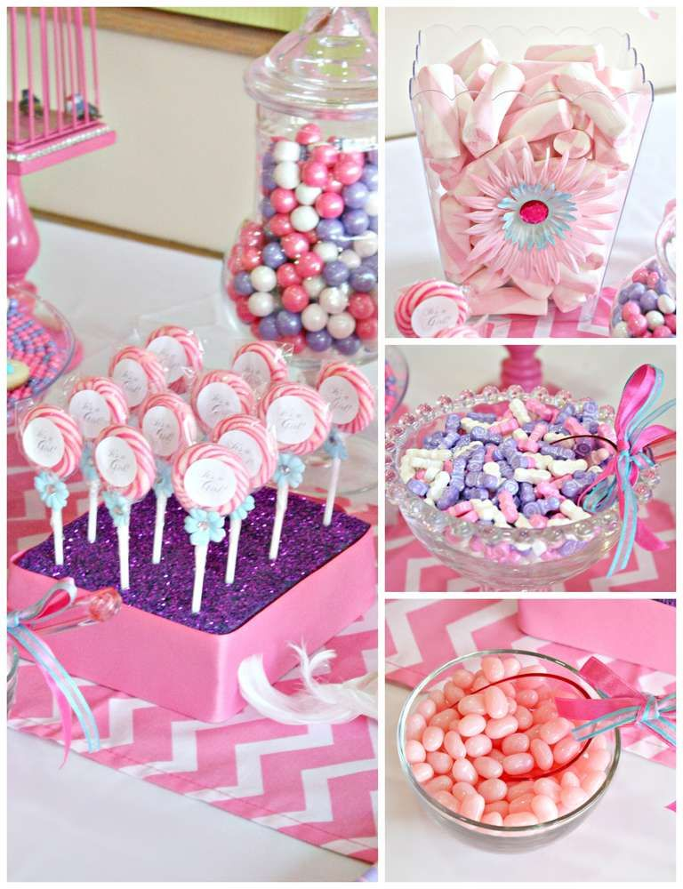 Diy Candy Table Ideas For Baby Shower Interior Design 3d