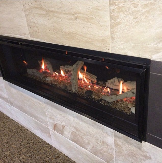 Gorgeous Linear Fireplace by Valor  Valor Fireplaces in
