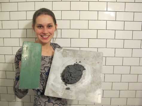Bathroom Renovations In A Day grey subway tile shower | emily winters: bathroom renovation, day