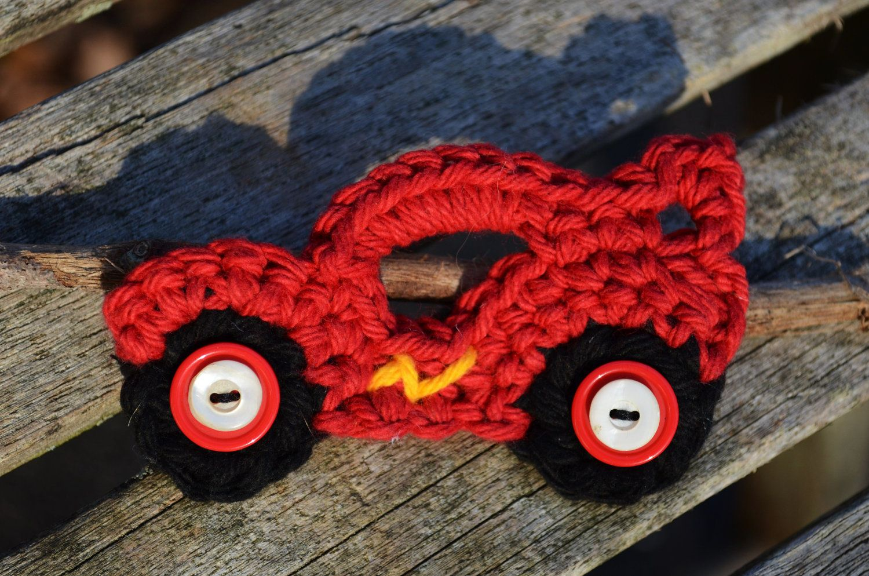 Crochet applique lightening fast racecar 550 via etsy crochet applique lightening fast racecar 550 via etsy bankloansurffo Choice Image