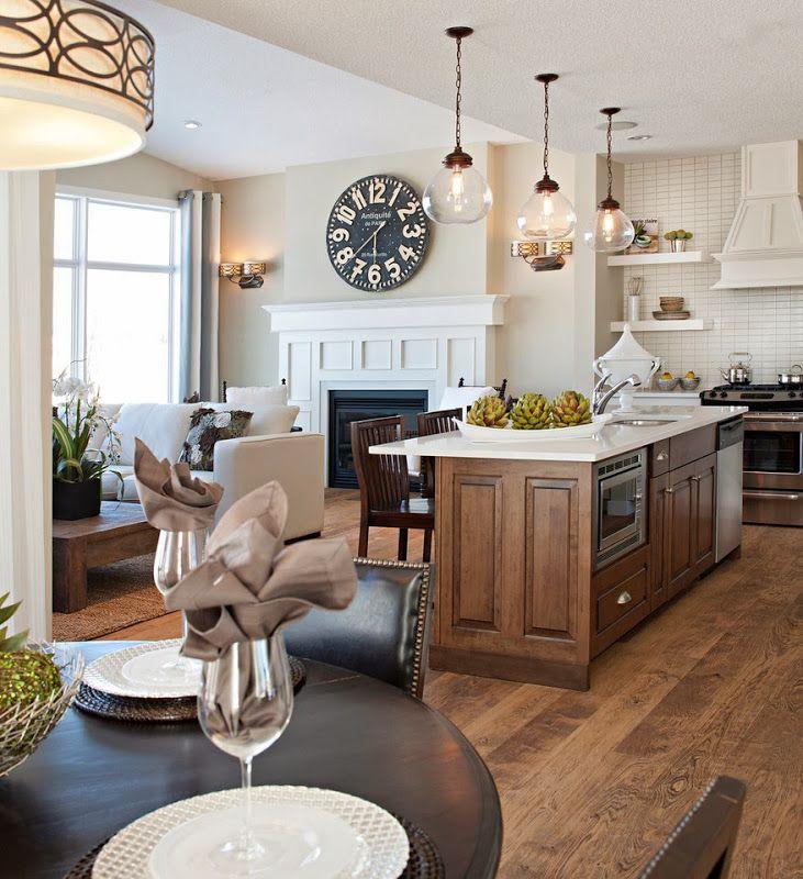 neutral kitchen/family room