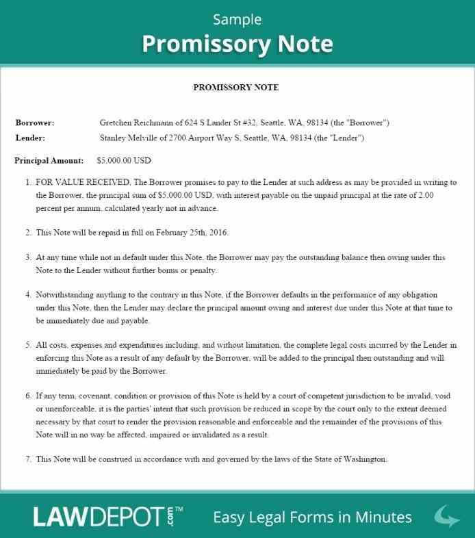 customized for free promissory Promissory Note Free Template Word - promissory note word template