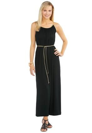 9171ba298fa Cato Fashions Gold Braided Belt Maxi Dress  CatoFashions