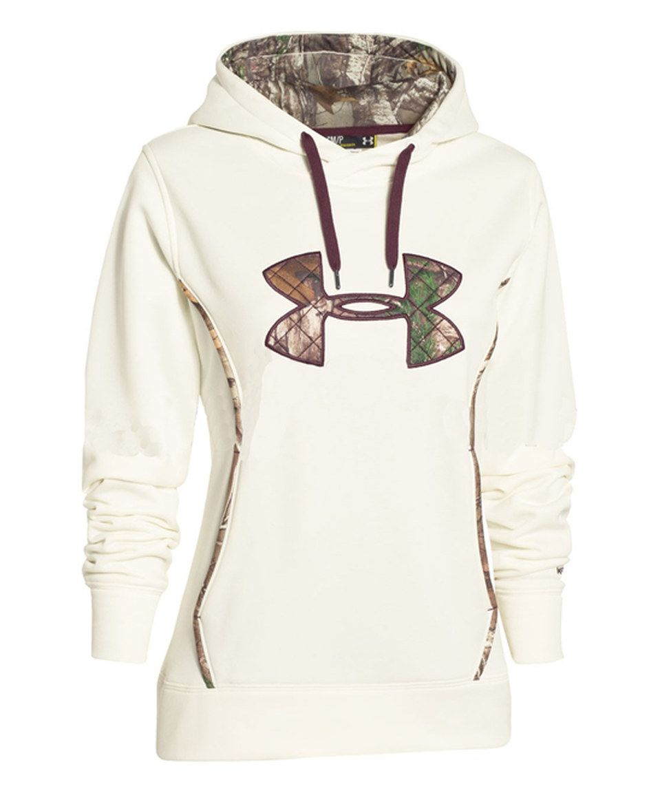 375e6bb5aa79 This Under Armour® Ivory Storm Caliber Hoodie by Under Armour® is perfect!   zulilyfinds