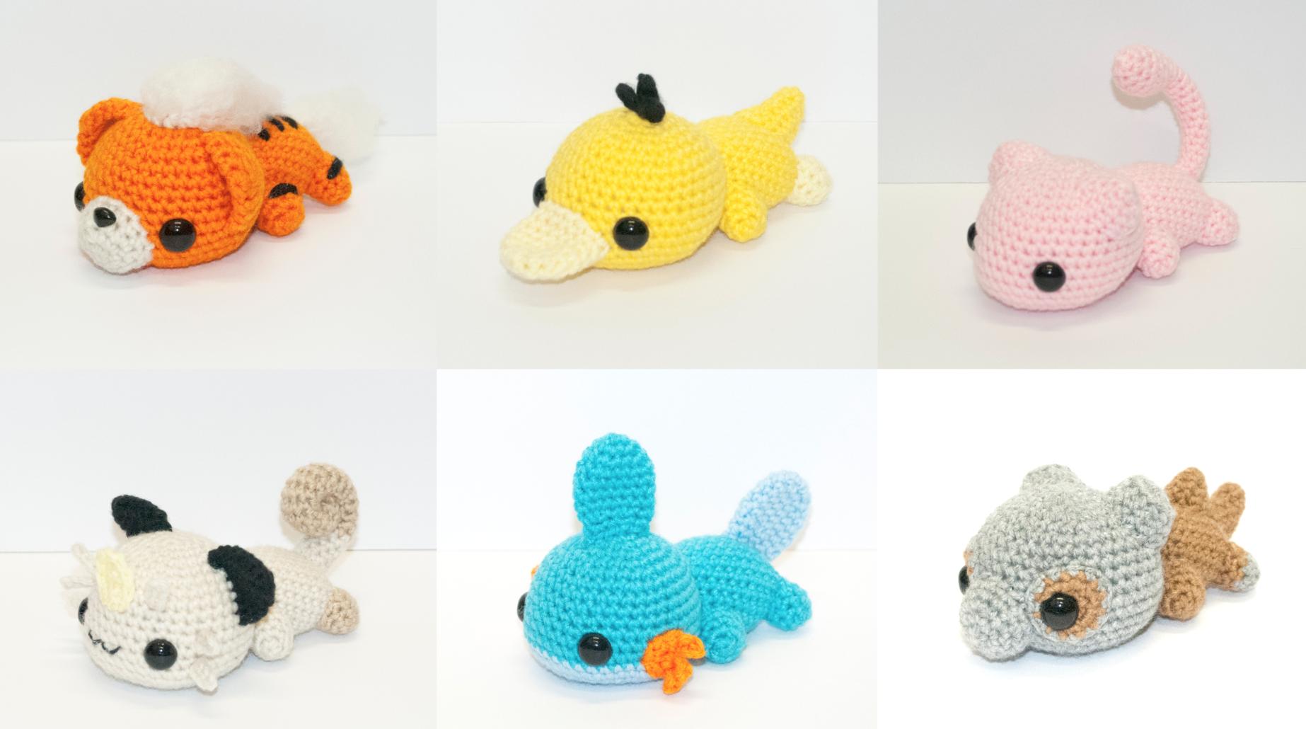 Pokemon-Peluches-Crochet-1 | amigurumi | Pinterest | Croché ...