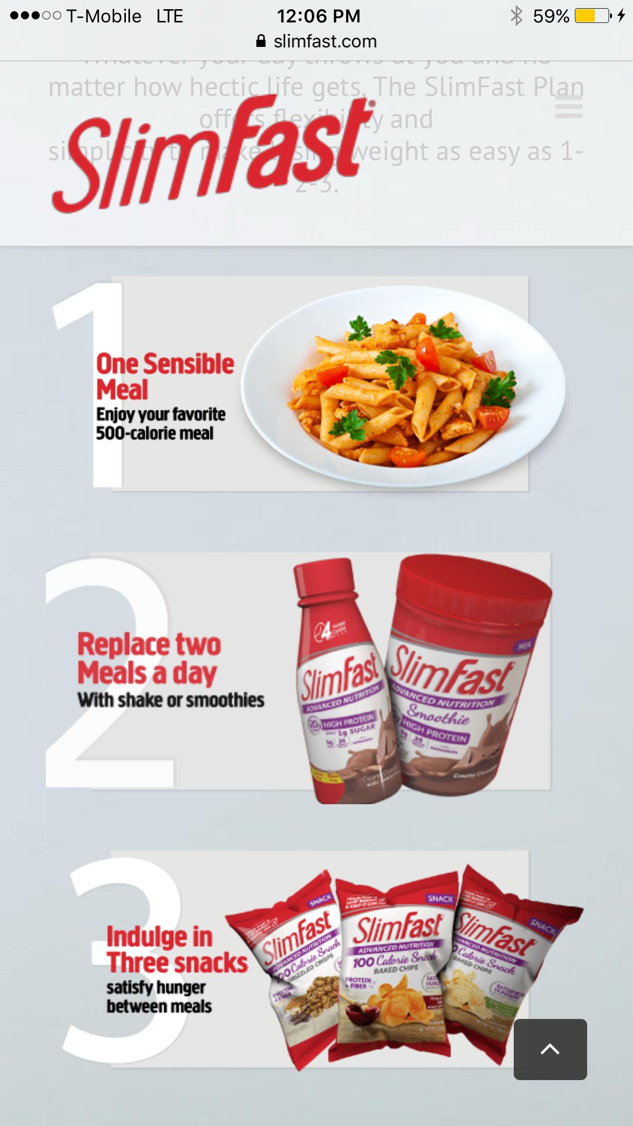 Slim Fast Diet >> Slimfast Diet Plan Weight Loss In 2019 Fast Metabolism Diet
