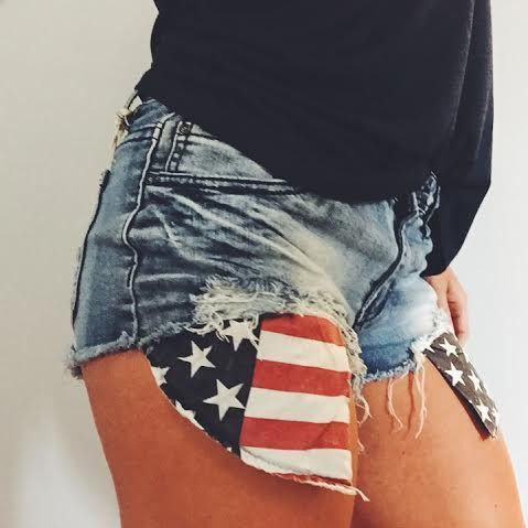 America's Sweetheart Cutoff Jean Shorts – impromptu boutique