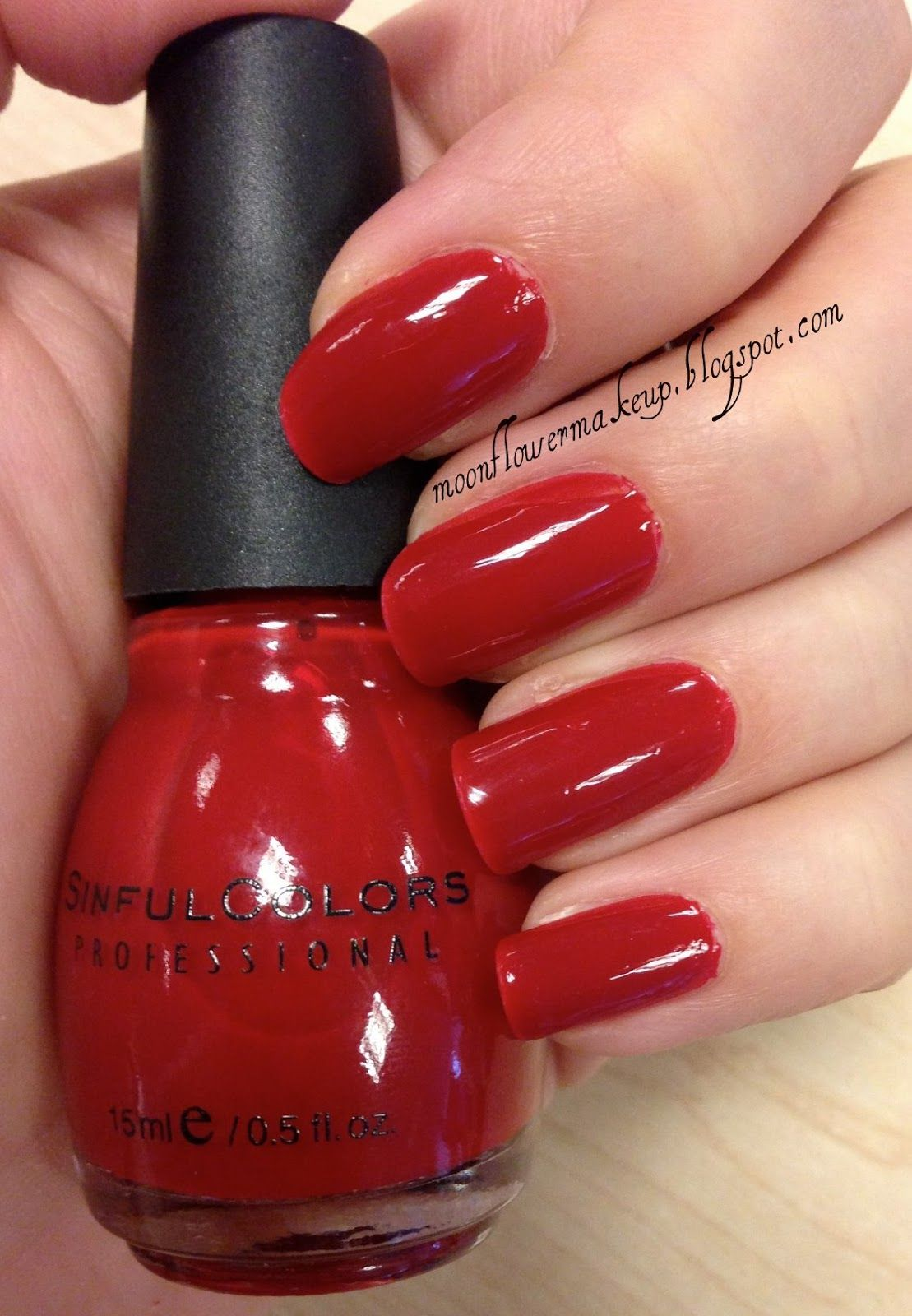 Sinful Colors – Ruby Ruby. Love this stuff it is by Revlon cheap and doesn't chip