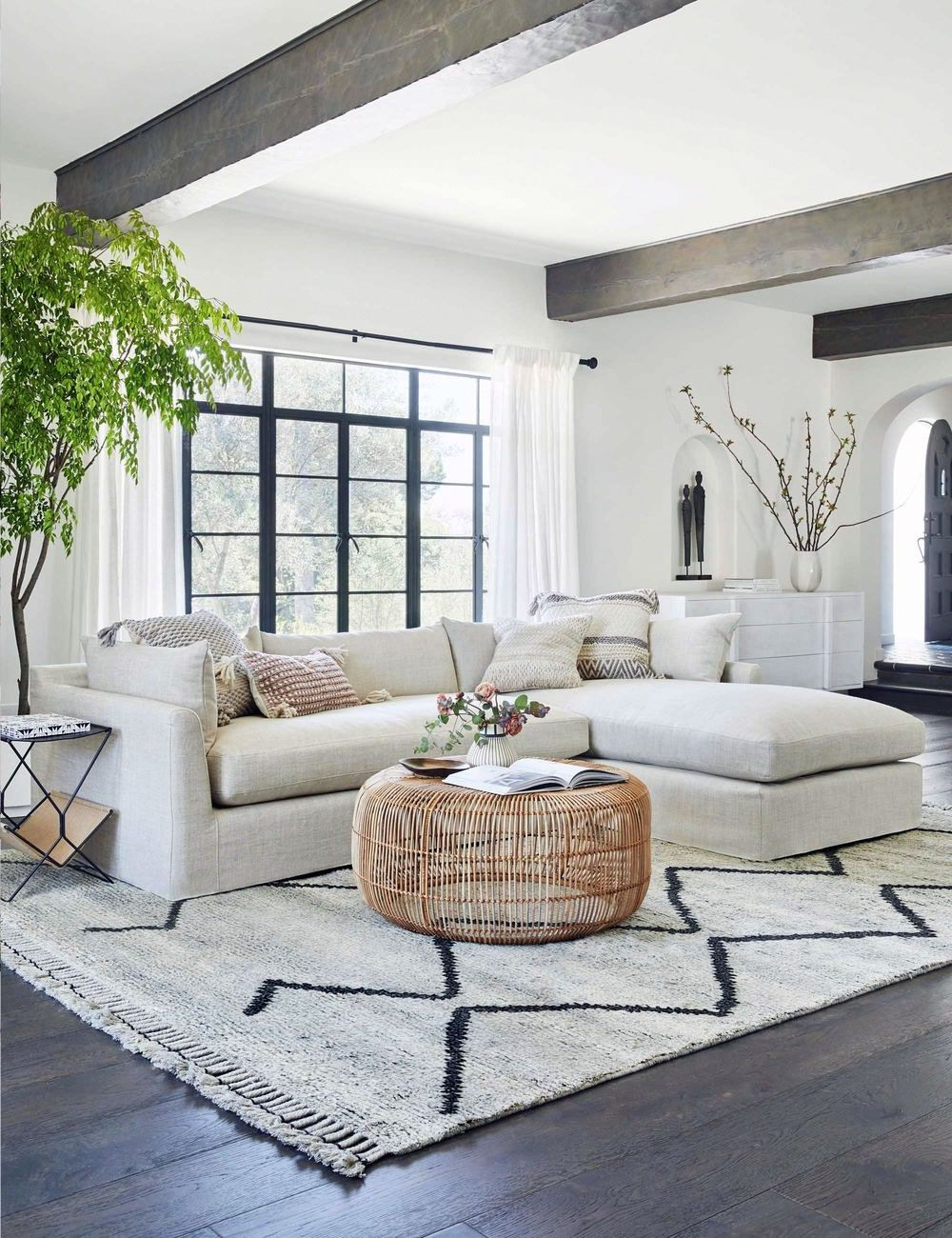 Get More Wonderful Scandinavian Living Rooms Rug Ideas.  32 Amazing Scandinavian Living Rooms Rug Inspirations The Scandinavian Rug is one of the most popular types of furniture that you...