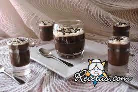 Crema de chocolate con almendras y cafe Ver Recetas.com