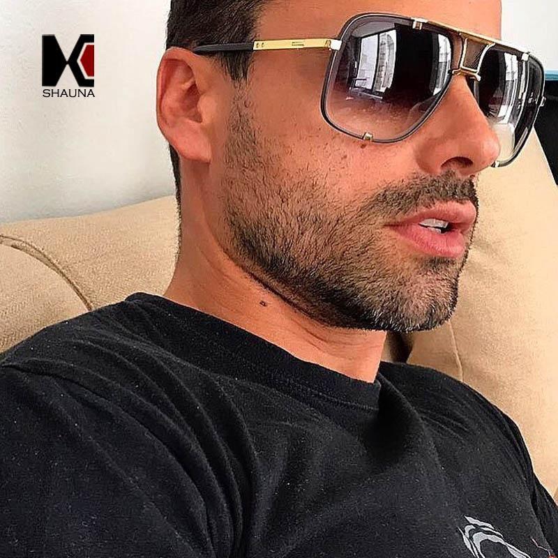 b30d1194f3 SHAUNA Fashion Women Square Sunglasses Brand Designer Men Gradient Lens  Shades UV400