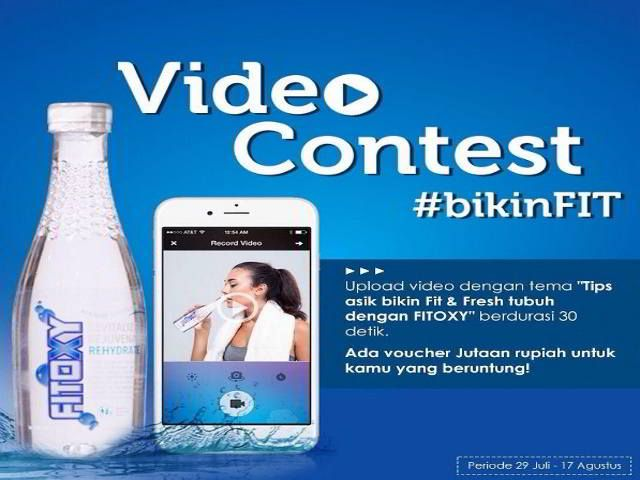 Kontes Video Bikin Fit Berhadiah Voucher Jutaan Rupiah Video Pengikut Bikini