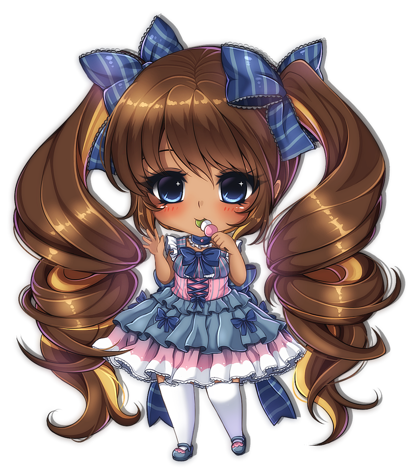 Commission 111 By Midna01 On Deviantart Chibi Anime Kawaii Cute Anime Chibi Chibi Girl