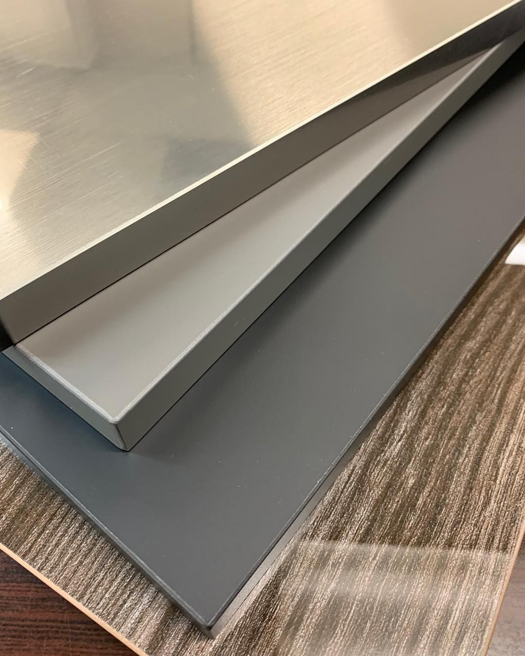 New Acrylic Kitchen And Cabinets Doors Are Now Available We Have Glossy In Wood Finish And Matte Finished In Gray And Wood Finish Cabinet Doors Grey And Beige