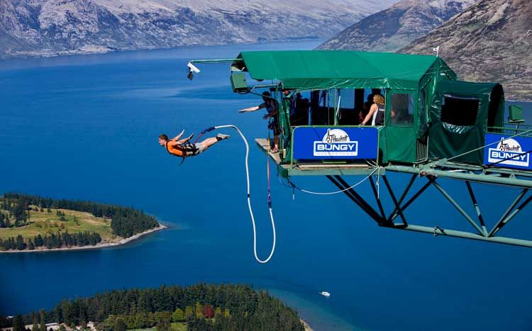 Top 10 best spots for adrenaline rush — extreme sports
