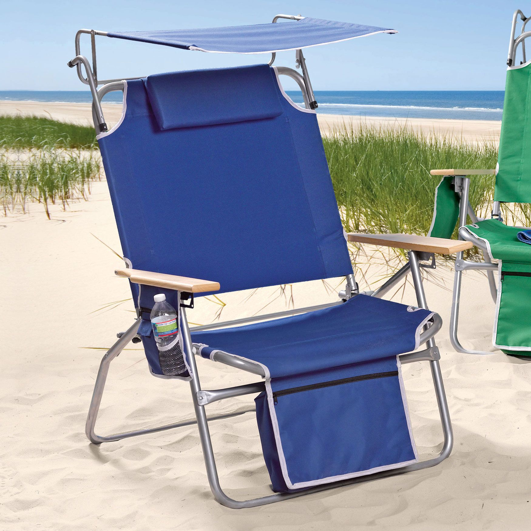 And Tall Extra Large Beach Chair With Sunshade Cool