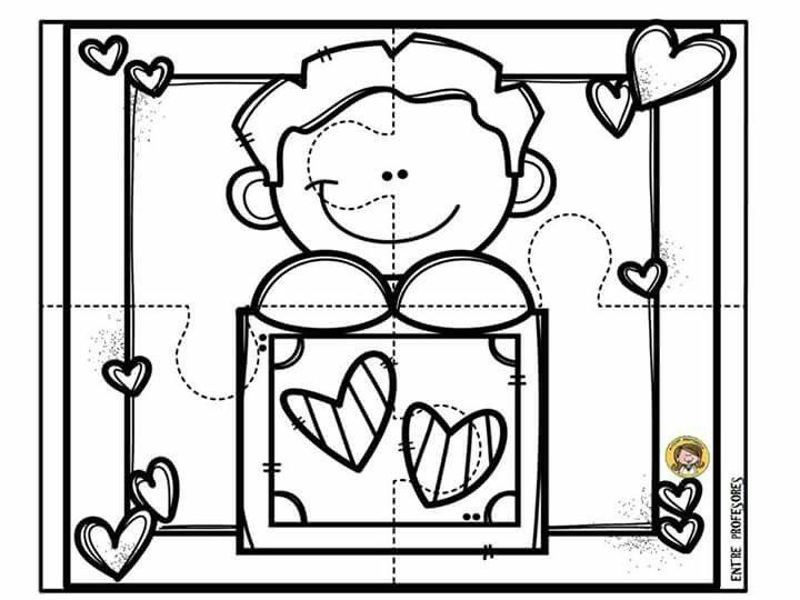 Dibujos Para Decorar Hojas Para Nios: Pin De Xóchitl Sánchez En Escuela