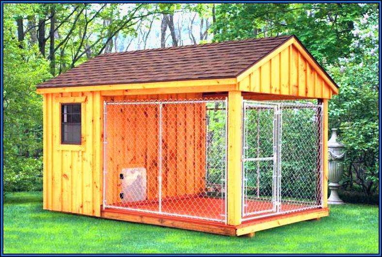 Backyard Kennel Designs Dog Fencing Ideas Very Destructive Mix