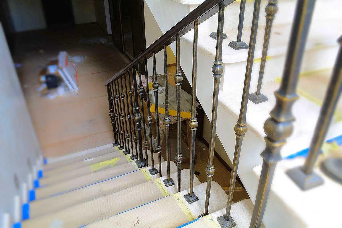 Фото grand forge ukraine элитные кованые лестничные ограждения