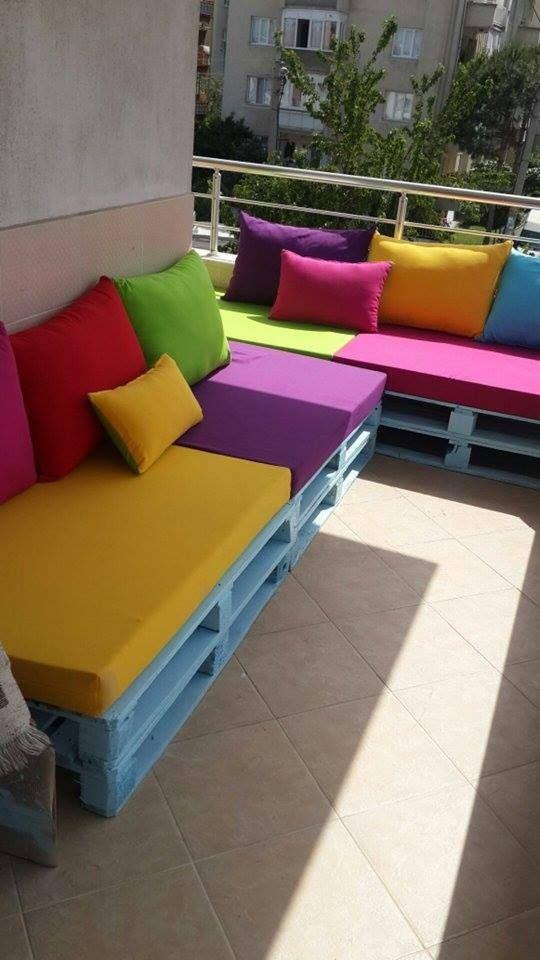 Photo of Elif hanımın rengarenk balkonu | Ev Gezmesi