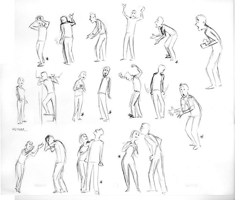 AndyMom_4 | Animation Poses | Drawing reference poses