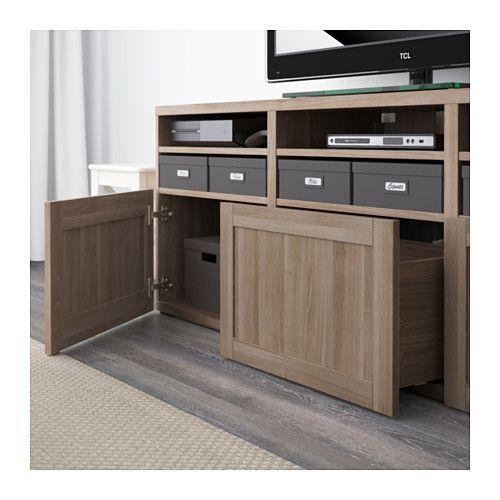Us Furniture And Home Furnishings Tv Storage Ikea Glass Door